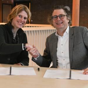 Ondertekening samenwerkingsovereenkomst gemeente Waadhoeke en de KwadrantGroep