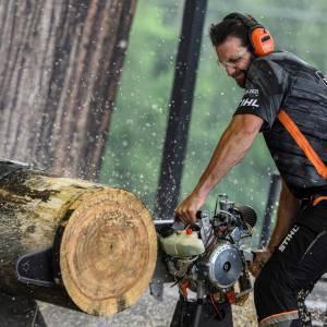 Ben Terpstra uit Leeuwarden wint het Stihl Timbersports® Benelux kampioenschap 2021