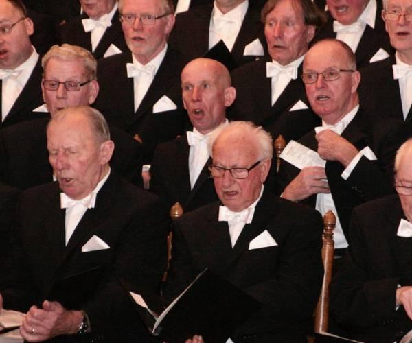 Samen zingen met Chr. Mannenkoor Pro Rege