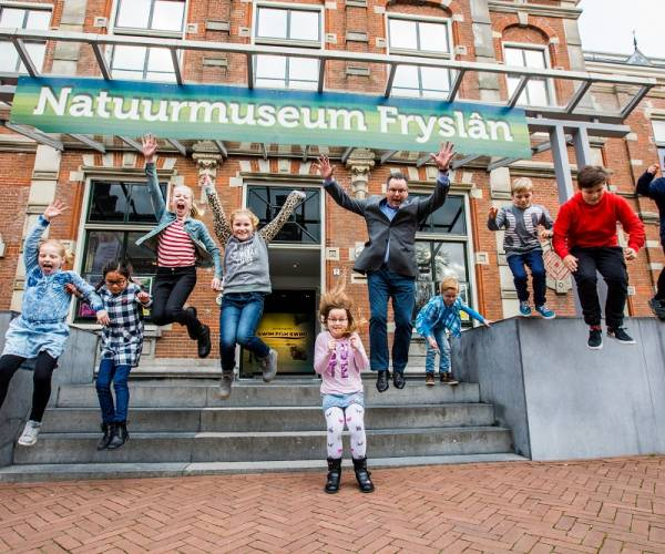 Natuurmuseum Fryslân beste Kidsproof Museum 2020 in de provincie Fryslân