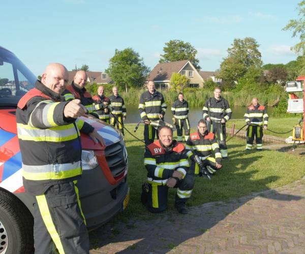 Brandweer Hallum zoekt versterking
