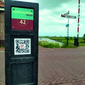 Wandel- en fietsroutes door de gemeente Leeuwarden