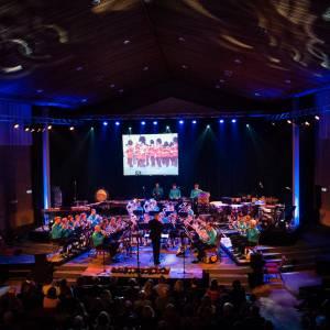 Nieuwjaarsconcert Brassband De Wâldsang in de Groate Kerk St. Jacobiparochie