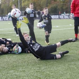SC Cambuur Voetbal- en Keeperskampen kleuren zomer geel-blauw