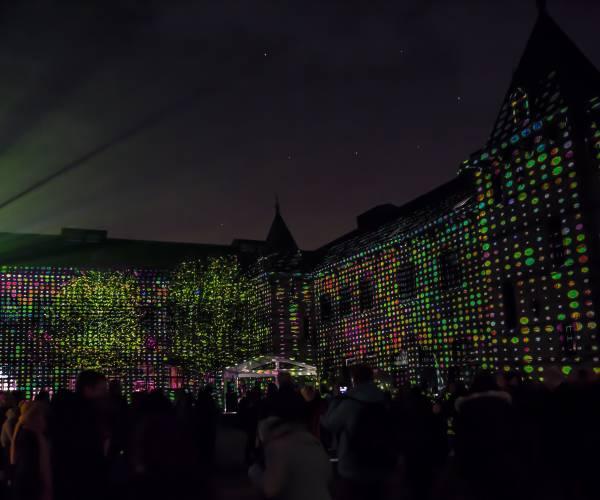 Media Art Festival en LUNA 2019 in binnenstad Leeuwarden
