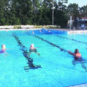 'Laatste weken van dit seizoen zijn de mooiste in het zwembad'