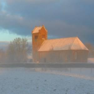 Kerkklokken luiden op eerste kerstdag