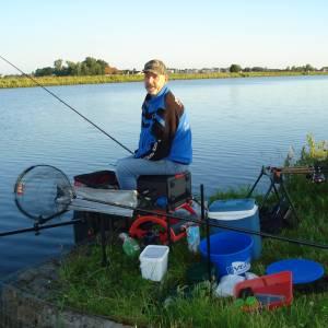 Nachtwedstrijd vissen
