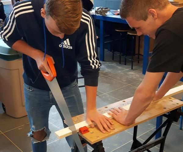 'Ulbe' maakt leerlingen enthousiast voor de BOUW