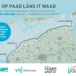 'Op Paad lâns it Waad' op unieke wijze fietsend genieten van de Wadden