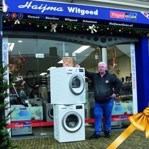 Wie wens jij een nieuwe wasmachine en droger?