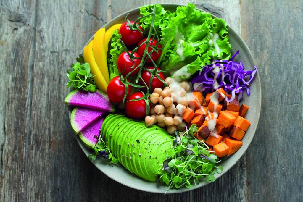 Vegetarisch Diner In Tunmanswente Koarnjum Stienser