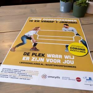 Publiekscampagne Wmo van start: Jouw buurtkamer is er vanaf 1 januari
