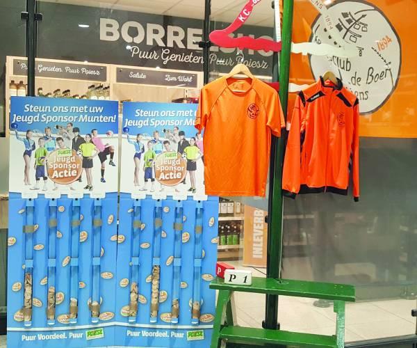 Sponsor Kc de Boer met de Poiesz  Jeugd Sponsor Actie