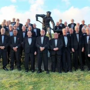 Het Christelijk Bildts Mannenkoor viert zijn 50-jarig jubileum