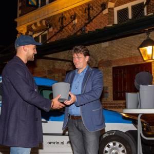 Duizendste biobakje komt Goed Terecht in Leeuwarden