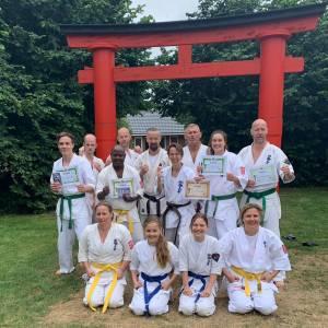Bruine band karate voor Marije Sijtsma