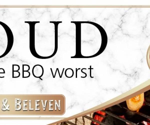 Goud voor de barbecueworst van Keurslager Brolsma