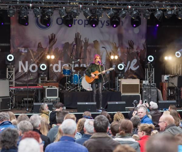 Omrop Fryslân hoofdpodium op Bevrijdingsfestival