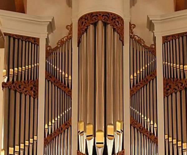 Orgelplusconcert door Sebastiaan Schippers en Jan Hibma in de Grote Kerk Menaam