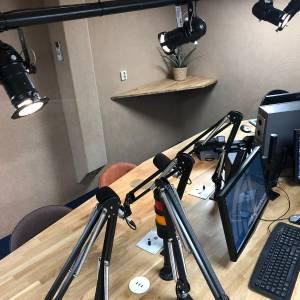 Vernieuwde studio Radio Eenhoorn