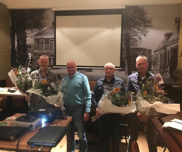 Afscheid 4 bestuursleden OVL