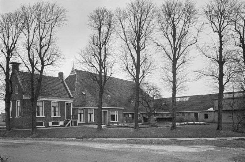 Rijksmonument Sinne State, rond 1960, Holpaed, Dronryp