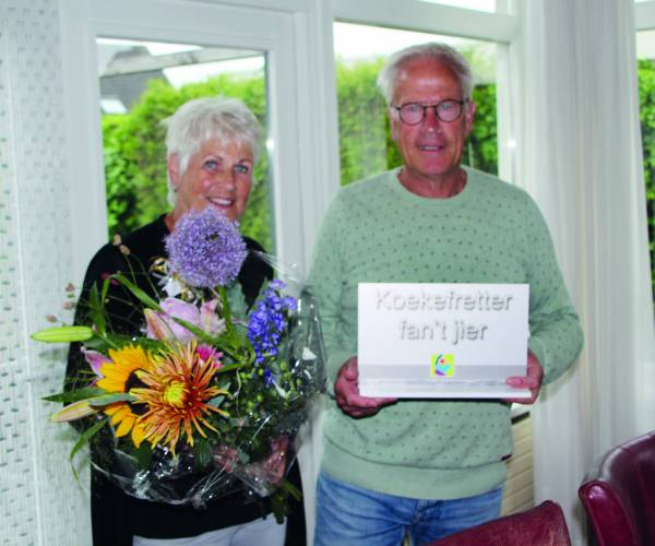 Siebe Post Koekefretter fan 't Jier