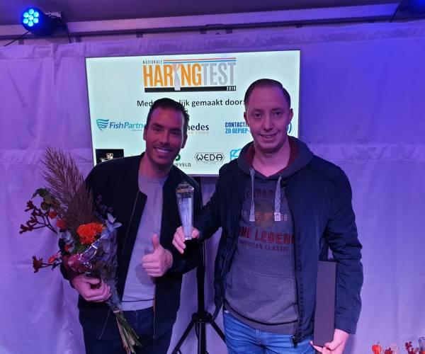 Vishandel Kasper Kremer winnaar Nationale Haringtest 2019