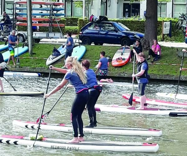 Paddle for Pink Ribbon