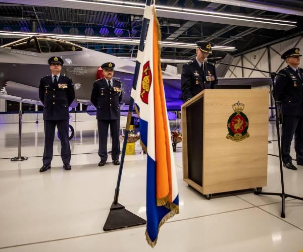 Commando-overdracht Vliegbasis Leeuwarden