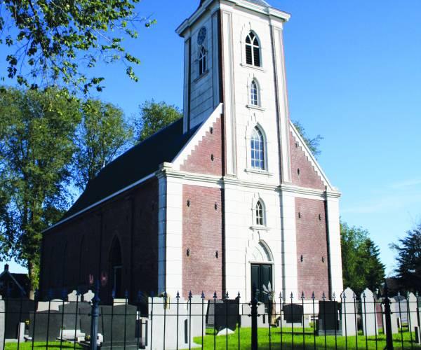 Tsjerkepaad in St. Johanneskerk Britsum