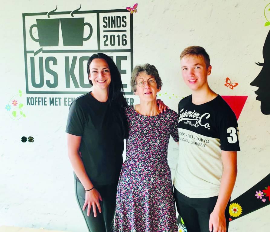Team Bakkerij Wijnsma Stiens: Esther, Gepke en Wytze