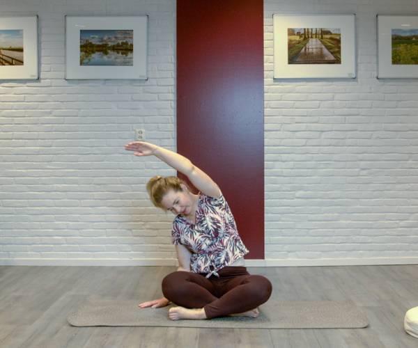 Yoga online van Machteld Kiestra