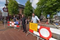 Coronaproof genieten op Diepswal Dokkum door eenrichtings-verkeer en afsluitingen