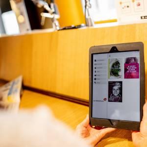 Infodag in dbieb over de gratis Online Bibliotheek-app