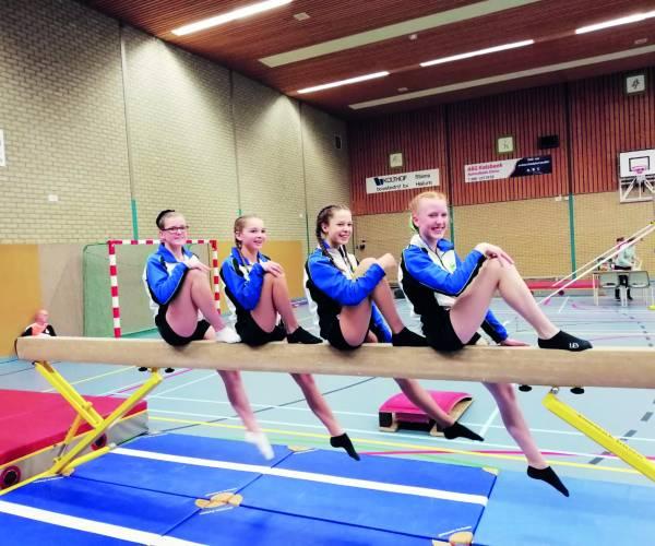 Prestaties SGC turnsters op eerste plaatsingswedstrijden