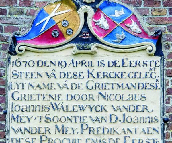 Kerkenpad op het Bildt