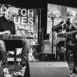Vlindertuinconcert blues duo The Mudbirds