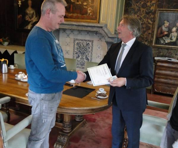Eerste ljipaai van Noardeast-Fryslân 2019 gevonden door Robert Thalen