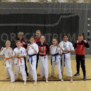 Rosan Martina ultieme karatekampioen van Nederland